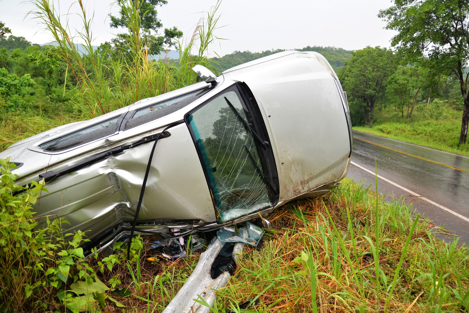 Vehicle Rollover Crashes